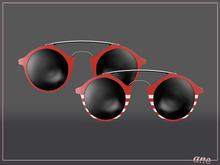 A N E Glasses - Tehe Sunglasses - Red
