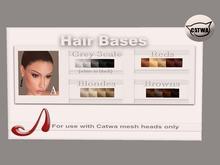 Analog Dog - GREY SCALE Catwa Hairbase