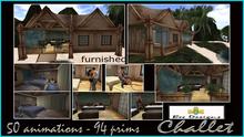 PROMO 300L OFF! BD Chalet box  -  tiki chalet  - cottage - tiki house
