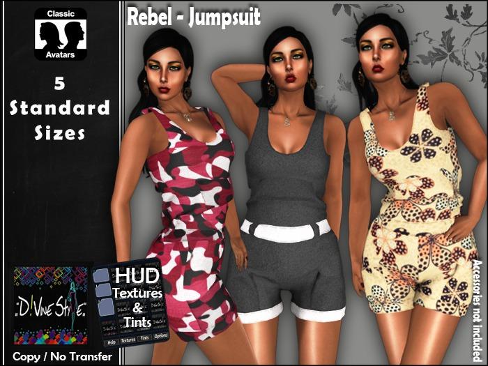 :: D!vine Style :: Rebel - Jumpsuit