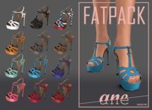 A N E Shoes - NYE Heels FATPACK