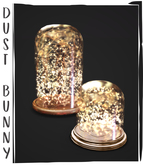 dust bunny . lighted jars . boxed . rez & touch