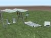 Camp canopy set 001