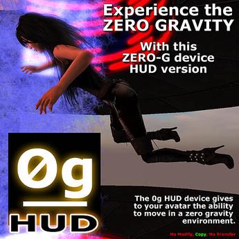 Zero gravity device - HUD Version