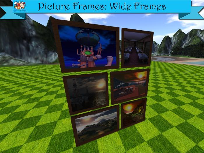 TD Creations - Picture Frames: Wide Frames