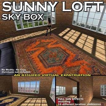 Loft ensoleillé (Skybox)