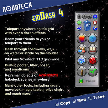 emDash -- Personal Transporter and Multi-Gadget