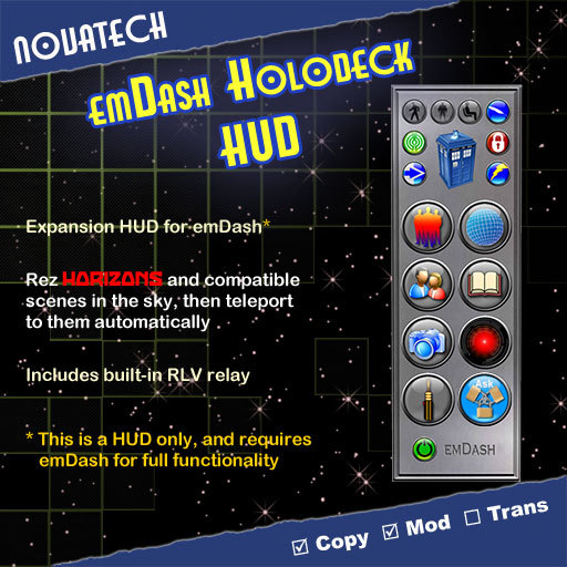 emDash Holodeck HUD