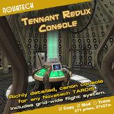 TARDIS Console Room, Tennant Redux