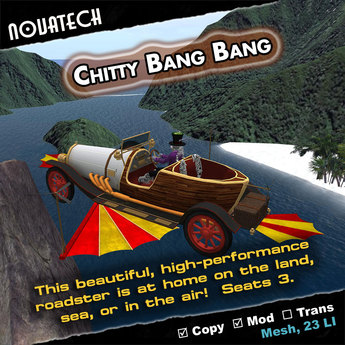 Chitty Chitty Bang Bang - Shape-Changing Automobile