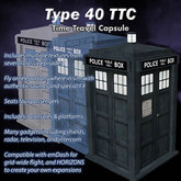 TARDIS Type 40 - Time Travel Capsule