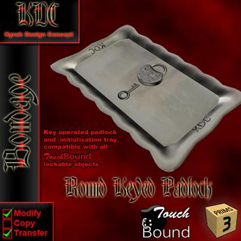 KDC round padlock (1 piece)