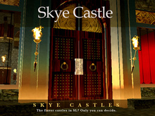 Skye Castle - One of SL's finest castles - perfect as a Mansion or large Country House  . prefab