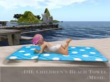 :DH: Children's  Beach Towel
