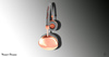 Treized Designs Bronze Headphones