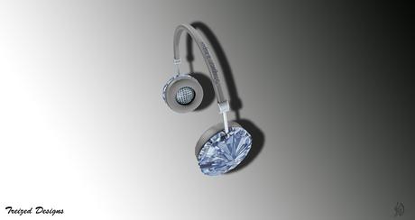 Treized Designs Special Diamond Headphones