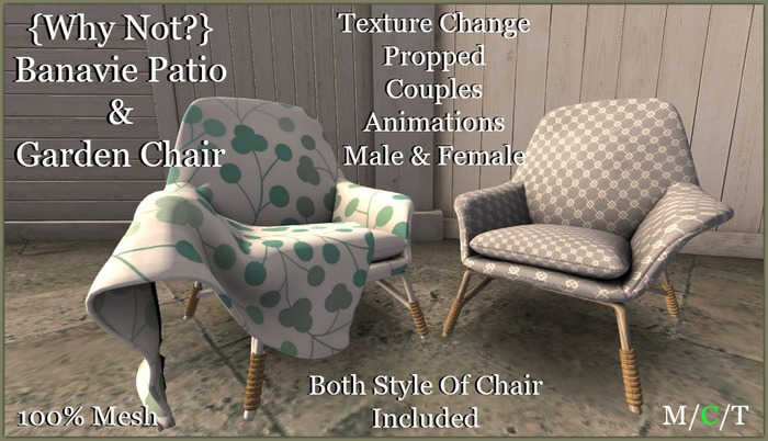 {Why Not?} Banavie Patio & Garden Chair-Boxed