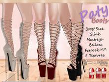 DM:: Paty Boots  Maitreya-Slink-Belleza