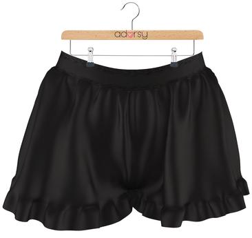 adorsy - Rene Shorts Black - Maitreya