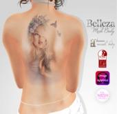 TSB ::: Tattoo the woman in bloom