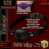KDC Stuffed Ballgag