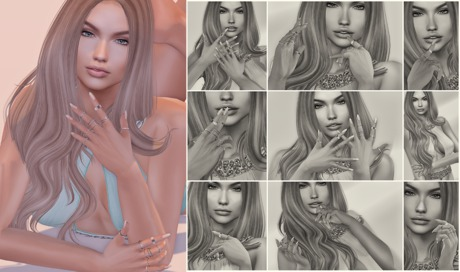 L y r i u m - Close Up Bento Poses Pack