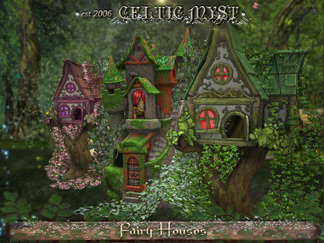 ❃Fantasy Forest Collection: FAIRY HOUSES