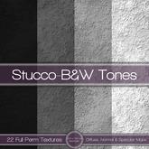 {L} Stucco-B&W Tones