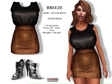 [F] Breeze Outfit Black