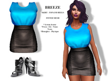[F] Breeze Outfit Blue