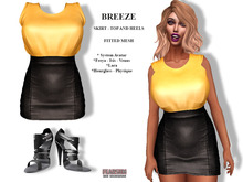 [F] Breeze Outfit Gold