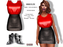 [F] Breeze Outfit Red