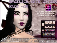 Angelica Skin Pale Geisha face ADD-ON with body skin OMEGA