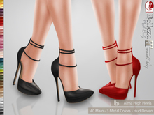Bens Boutique - Alma High Heels - Hud Driven
