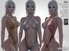 Vaxer :: Bibi Swimsuit for Maitreya, Slink (P; H), Belleza (V, I, F) - 15 Textures HUD