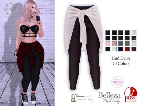 AdoreZ-Paris Pants Hud Colors