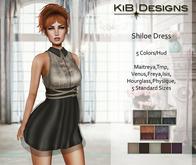 KiB Designs -  Shiloe Dress w. Straps FATPACK