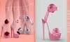 [BREATHE]-Roselyn Heels-Rose Pink-(for Slink High Feet & Maitreya Lara & Belleza)