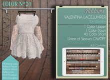"Addams ""Valentina"" Jumper Dress for Maitreya, Belleza, Slink #20"