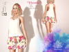 "@Dzambala - Summer Skirt Outfit  ""Flower"" - Maitreya"