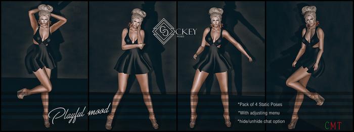 CKEY Poses - Playfull mood