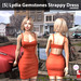 s  lydia gemstones strappy dress orange ad