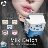 .TeaBunny. Milk Carton