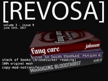 [REVOSA] Stack of Books [Bloodsucker Reading]