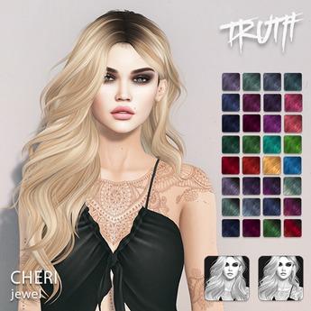 TRUTH Cheri - Jewel (Fitted Mesh Hair)