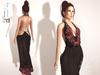 "@Dzambala -  Open Back Dress ""Black""  - Maitreya"