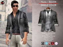 A&D Clothing - Blazer -Paolo- Stone