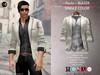 A&D Clothing - Blazer -Paolo- Ivory