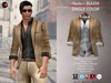 A&D Clothing - Blazer -Paolo- Brown