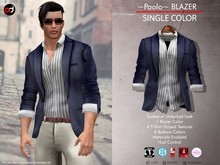 A&D Clothing - Blazer -Paolo- Navy